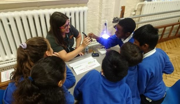 An engineering Careers Carousel with Year 6 at Carlton Primary School