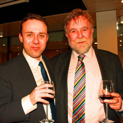 David Blagbrough and Jonny Boux celebrate 10 years of Inspire!