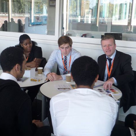Cardinal Pole students take part in a Careers Carousel