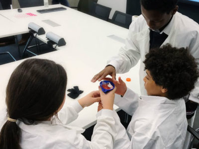 Millfields Year 6 visit Cancer Research UK's headquarters and take on the role of a research scientist