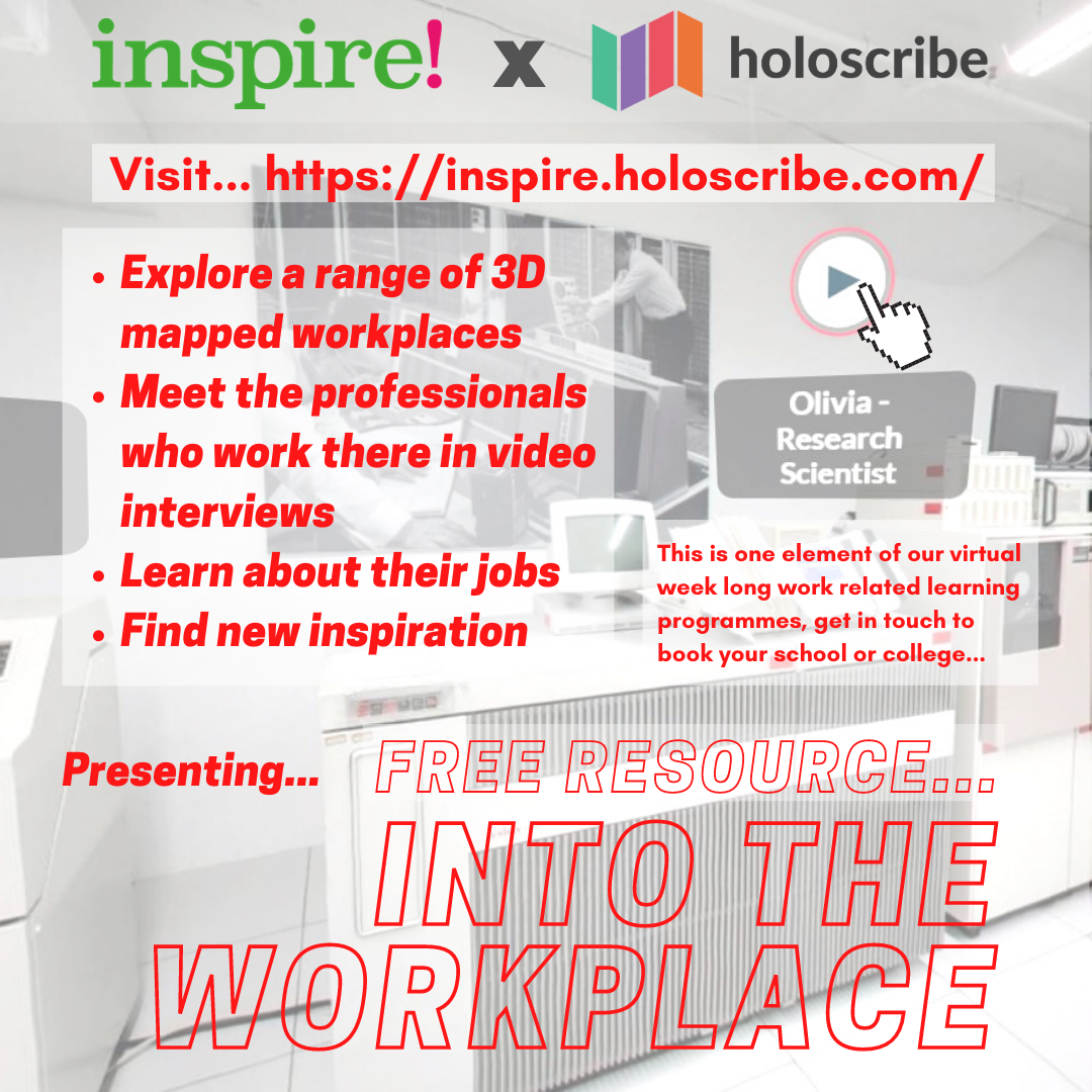 Into the Workplace graphic