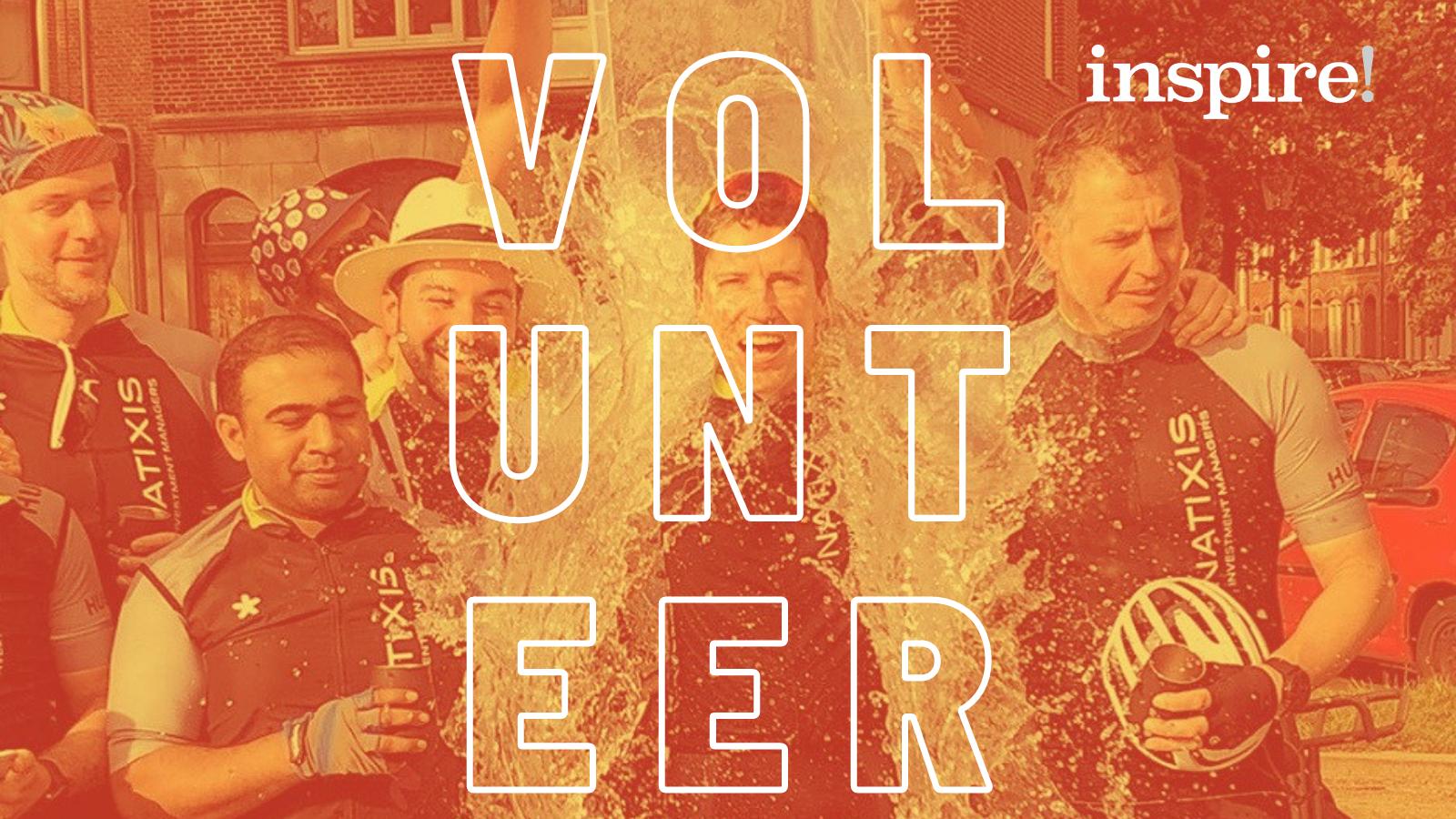 Volunteer fundraise